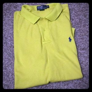 Bright yellow polo